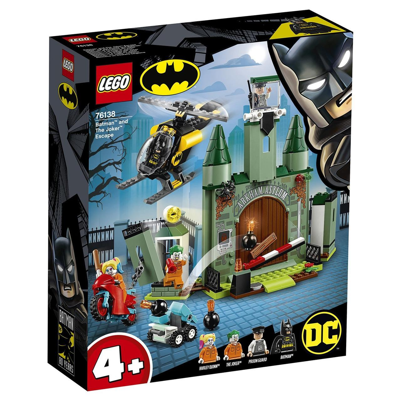 Конструктор LEGO Super Heroes: Бэтмен и побег Джокера