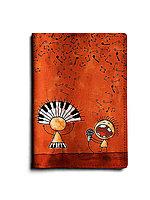 Обложка для паспорта, PAS1 «Jazz Band»