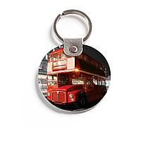 Брелок (Круглый) TRI4 «London Bus»