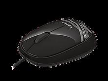 Logitech 910-002943 M105 Black Мышь проводная (черная с рисунком, оптическая, 1000dpi, USB, 1.5м)