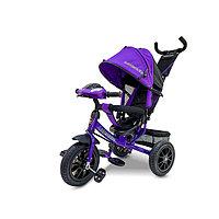 Детский трехколесный велосипед Lexus Trike с музыкальной панелью фиолетовый, фото 1