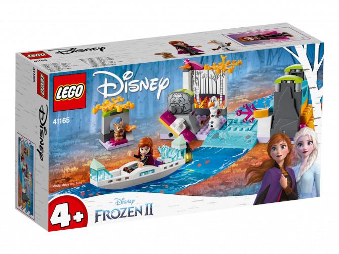Конструктор LEGO: Экспедиция Анны на каноэ