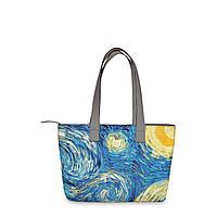 Сумка тоут, BAG2 «Vincent van Gogh Starry night»