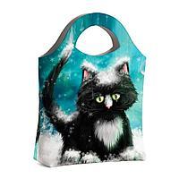 Сумка тоут BAG4 «Snow cat»