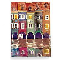 Обложка для паспорта, PAS2 «The city watercolor»