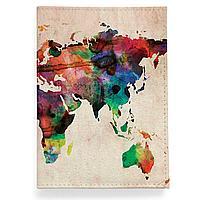 Обложка для паспорта, PAS2 «World map»