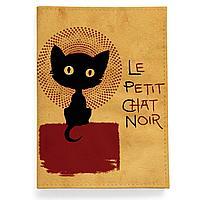 Обложка для паспорта, PAS2 «Small black cat»