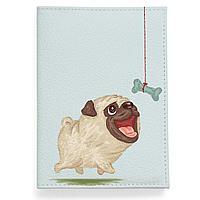 Обложка для паспорта, PAS2 «Dog with bone»