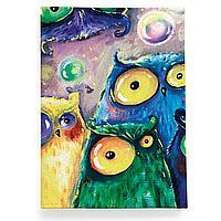 Обложка для паспорта, PAS2 «Many owls»