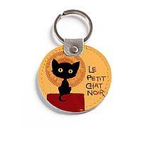 Брелок (Круглый) TRI4 «Small black cat»