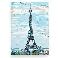 Обложка для паспорта, PAS2 «Eiffel tower»