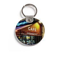Брелок (Круглый) TRI4 «Café»