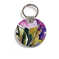 Брелок (Круглый) TRI4 «Irisy akvarel»