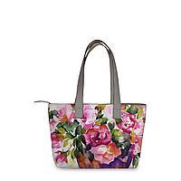Сумка тоут, BAG2 «Watercolor flowers in vase»