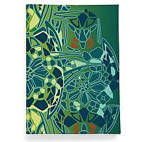 Обложка для паспорта, PAS2 «Мозаичные цветы»