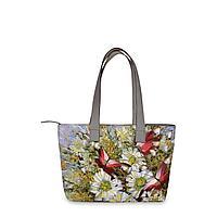 Сумка тоут, BAG2 «Бабочки и цветы»