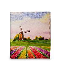 Кошелек мини PR17 «Поля тюльпанов Голландия»