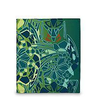 Кошелек мини PR17 «Мозаичные цветы»