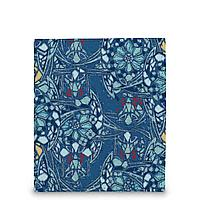 Кошелек мини PR17 «Мозаика голубая»