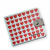 Кошелек мини PRS8 «Сердечки»
