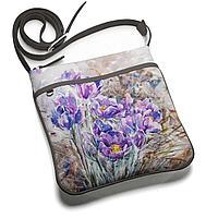 Сумка планшет BAG 1 «На опушке расцвела сон-трава»