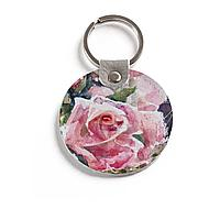 Брелок (Круглый) TRI4 «Благоуханье нежных роз»