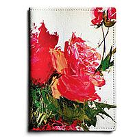 Обложка для паспорта, PAS1 «Букет роз»
