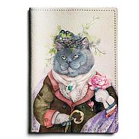 Обложка для паспорта, PAS1 «Кот с душой поэта»