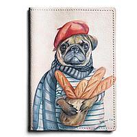 Обложка для паспорта, PAS1 «Букет из багетов»