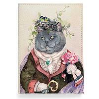 Обложка для паспорта, PAS2 «Кот с душой поэта»