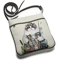 Сумка планшет BAG 1 «Кот-рыбак 2»