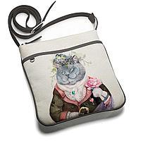 Сумка планшет BAG 1 «Кот с душой поэта»