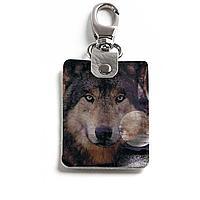 Брелок (Прямоугольный ) TRI1 «Волк»