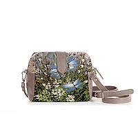 Сумка кросс-боди BAG6 «Бабочки над цветами и травами»