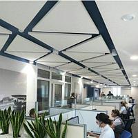 Акустические подвесные панели 1039x1200x30 Triangle