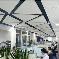 Акустические подвесные панели 1039x1200x40 Triangle