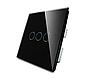 Сенсорный выключатель Touch Black (Трехлинейный), фото 2