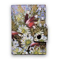 Кошелек мини, кардхолдер, PR24 «Бабочки и цветы»