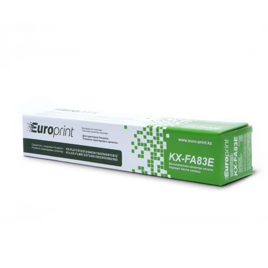 Тонер-картридж Europrint KX-FA83E Black (2500 страниц)