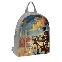 Рюкзак BKP2 «Мальчик и велосипед»