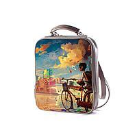 Рюкзак BKP1 «Мальчик и велосипед»