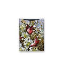 Обложка для документов, PAS3 «Бабочки и цветы»