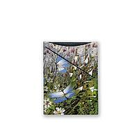 Обложка для документов, PAS3 «Бабочки над цветами и травами»