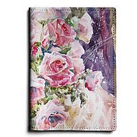 Обложка для автодокументов, AUT1 «Благоуханье нежных роз»