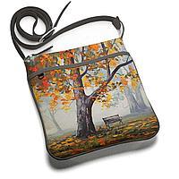 Сумка планшет «Autumn bench»