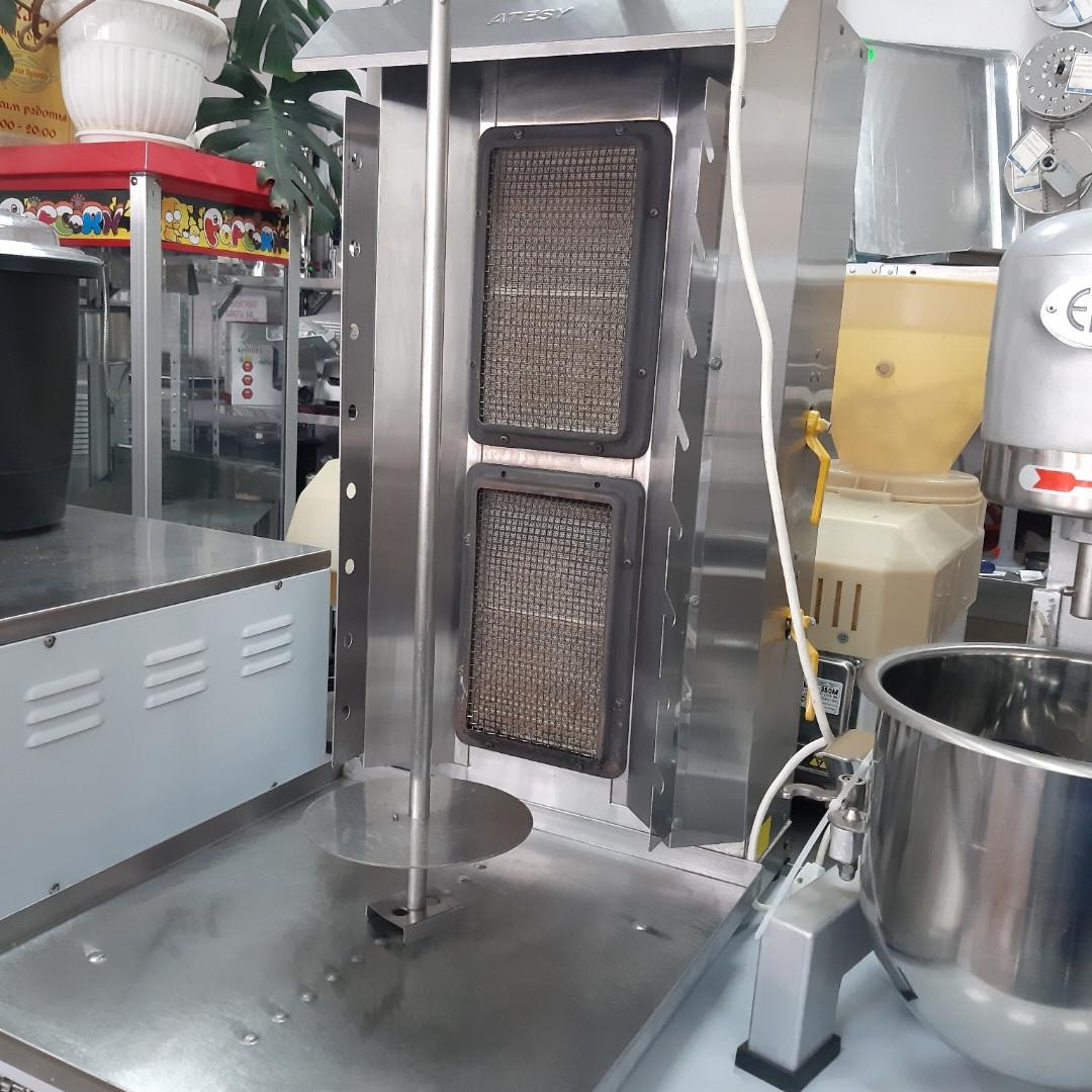Установка для приготовления шаурмы, газ