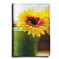 Обложка для автодокументов, AUT1 «Sunflower»