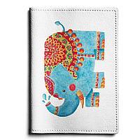 Обложка для автодокументов, AUT1 «Blue elephant»