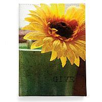 Обложка для автодокументов, AUT2 «Sunflower»