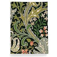 Обложка для автодокументов, AUT2 «William Morris 11»